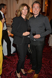 GRAEME & MARIANA LE SAUX at the Audi Ballet Evening at The Royal Opera House, Covent Garden, London on 23rd April 2015.