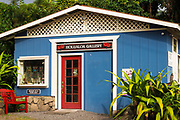 The Holualoa Gallery, Holualoa, Kona District, The Big Island, Hawaii USA
