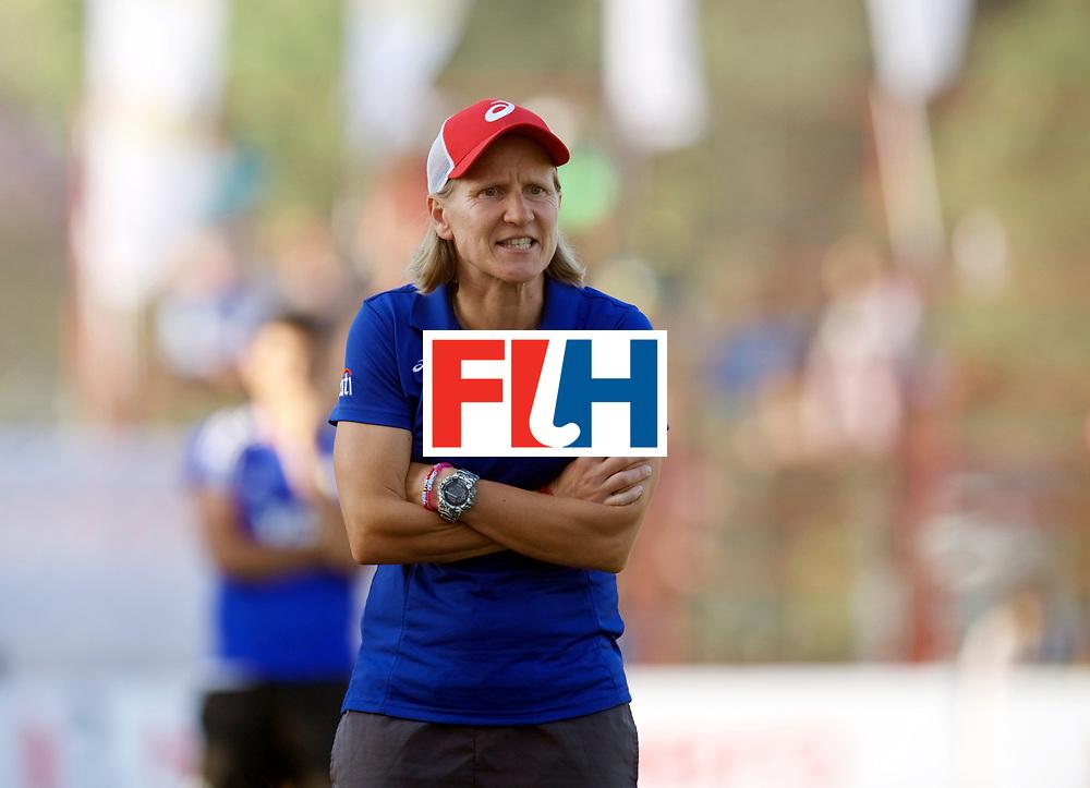 SANTIAGO - 2016 8th Women's Hockey Junior World Cup<br /> ARG v USA (QF)<br /> foto: Janneke SCHOPMAN <br /> FFU PRESS AGENCY COPYRIGHT FRANK UIJLENBROEK