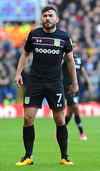 Robert Snodgrass of Aston Villa in action - Mandatory by-line: Nizaam Jones/JMP - 29/10/2017 - FOOTBALL - St Andrew's Stadium - Birmingham, England - Birmingham City v Aston Villa - Sky Bet Championship