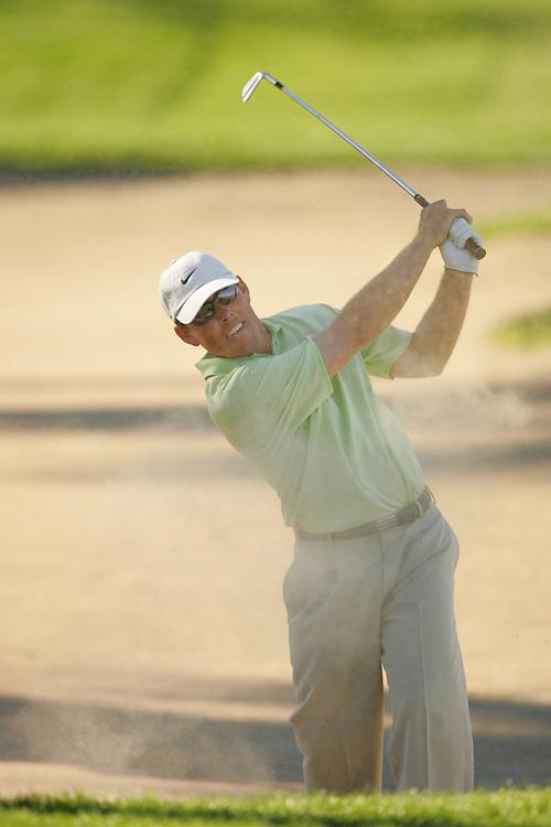 Justin Leonard..2005 Bob Hope Chrysler Classic.Arnold Palmer Course at PGA West.La Quinta, CA USA .January 30 2005.Final Round..Photograph by Darren Carroll