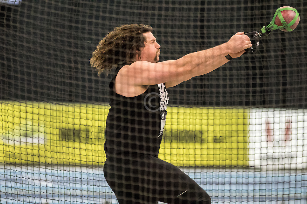 USATF Indoor Track & Field Championships: mens weight throw, Colin Dunbar