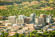 Aerial photo of Boise Idaho.