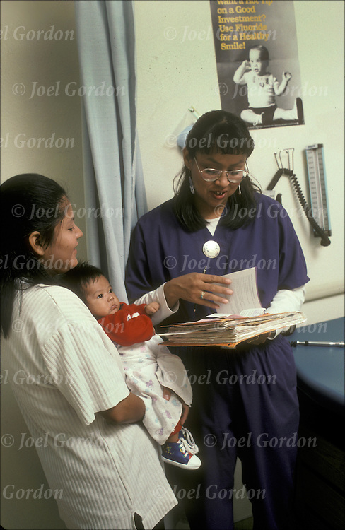 Pediatrics medical practitioner in Well Baby Clinic in the Indian Health Services (IHS) Chinle Comprehensive Care Facility. AZ