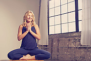 Yoga guru Leah Cullis for Yoga Journal.<br /> <br /> Photographed by fitness lifestyle photographer Nathan Lindstrom.