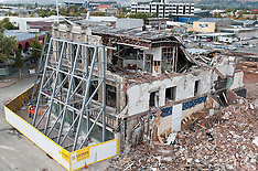 Christchurch-City's changing landscape as demolition continues
