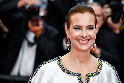 Carole Bouquet attending the Soiree 70eme Anniversaire during the 70th Cannes Film Festival on May 23, 2017 in Cannes, France. Photo by Julien Zannoni/APS-Medias/ABACAPRESS.COM