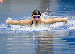 Anja Klinar (SLO) of PK Gorenjka Radovljica at practice, on February 10, 2005, Radovljica Swimming pool, Radovljica, Slovenia.  (Photo by Vid Ponikvar / Sportida)