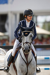 Baryard-Johnsson Malin, SWE, H&M Cue Channa 42<br /> Rolex Grand Prix CSI 5* - Knokke 2017<br /> © Dirk Caremans<br /> 09/07/17