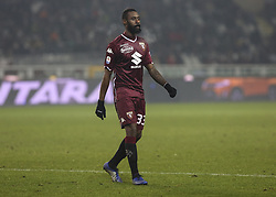 December 26, 2018 - Turin, Piedmont, Italy - Nicolas Nkoulou (Torino FC) during the Serie A football match between Torino FC and Empoli FC at Olympic Grande Torino Stadium on December 26, 2018 in Turin, Italy..Torino won 3-0 over Empoli. (Credit Image: © Massimiliano Ferraro/NurPhoto via ZUMA Press)