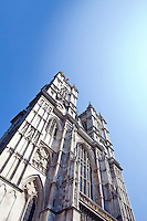 Westminster Abbey and Blue Sky
