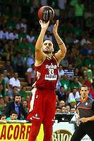 Tadija Dragicevic  - 20.06.2015 - Limoges / Strasbourg - Finale Pro A<br /> Photo : Manuel Blondeau / Icon Sport