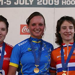 Sportfoto archief 2006-2010<br /> 2009<br /> Podium women -23 1th Chantal Blaak, 2nd Kathy Colclough, 3th Marianne Vos