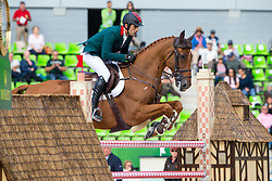 Abdeslam Bennani Smires, (MAR), Mowgli Des Plains - Team & Individual Competition Jumping Speed - Alltech FEI World Equestrian Games™ 2014 - Normandy, France.<br /> © Hippo Foto Team - Leanjo De Koster<br /> 02-09-14