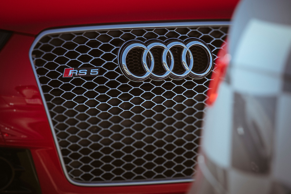 RS5 grill | Audi sportscar experience