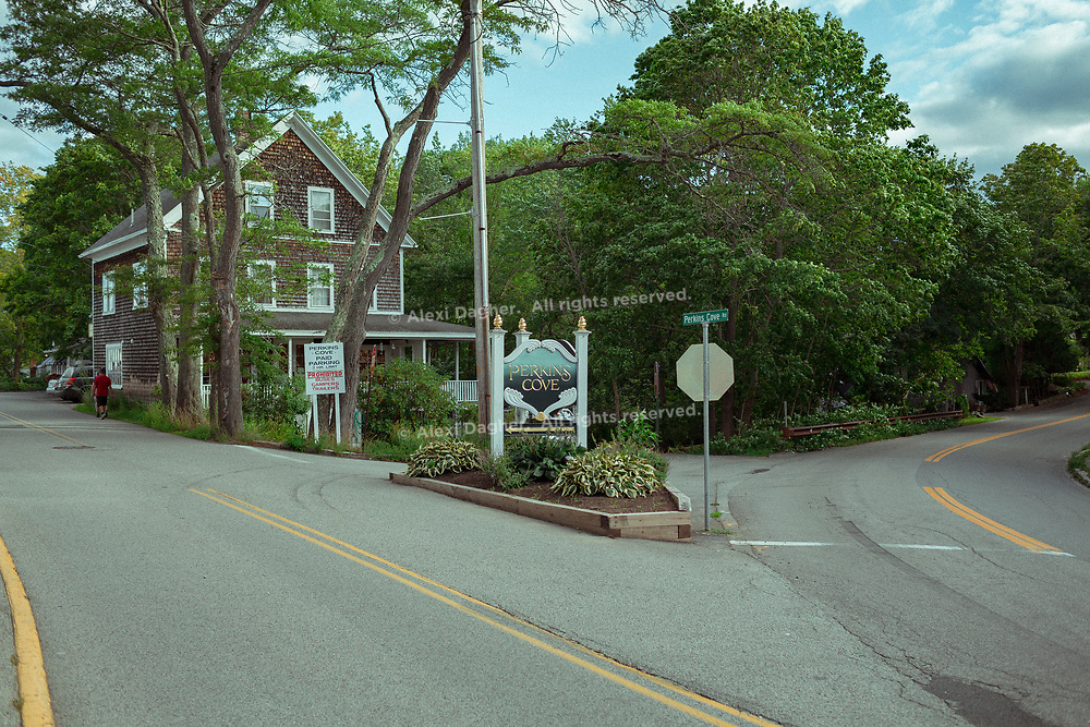 Entering Perkins Cove - Ogunquit, Maine, 2016