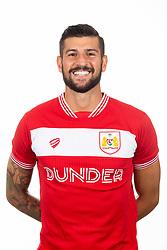 Eros Pisano of Bristol City - Ryan Hiscott/JMP - 26/07/2018 - FOOTBALL - Ashton Gate - Bristol, England - Bristol City Media Day