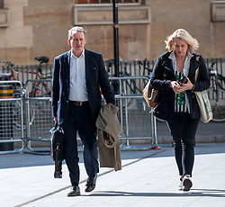 MP for East Hampshire and Education Secretary, Damian Hinds arriving at the BBC in London before appearing on the Andrew Marr show. <br /> <br /> Richard Hancox   EEm 12052019