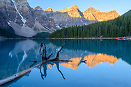 North America, Canada, Canadian,Alberta, Rocky Mountains, Banff National Park, Moraine Lake