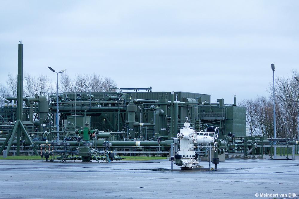 NAM-gaswinlocatie Blija. Mijnbouwwerk productielocatie Blije Ferwerderadeel 1 - NAM - Nederlandse Aardoliemaatschappij B.V.