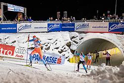 18.01.2019, Biathlonzentrum, Obertilliach, AUT, Dolomitenlauf, Dolomitensprint, im Bild v.l. Maria Graefnings (SWE), Constance Vulliet (FRA), Tatjana Mannima (EST) // during the sprint competition of the Dolomitenlauf at the Biathlonzentrum in Obertilliach, Austria on 2019/01/18. EXPA Pictures © 2019, PhotoCredit: EXPA/ Dominik Angerer