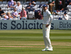 May 4, 2018 - Chelmsford, Greater London, United Kingdom - Yorkshire's Joe Root.during Specsavers County Championship - Division One, day one match between Essex CCC and Yorkshire CCC at The Cloudfm County Ground, Chelmsford, England on 04 May 2018. (Credit Image: © Kieran Galvin/NurPhoto via ZUMA Press)