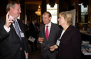 Adam Boulton, Andrew Marr and Polly Toynbee, Political Studies Association Awards 2004. Institute of Directors, Pall Mall. London SW1. 30 November 2004.  ONE TIME USE ONLY - DO NOT ARCHIVE  © Copyright Photograph by Dafydd Jones 66 Stockwell Park Rd. London SW9 0DA Tel 020 7733 0108 www.dafjones.com