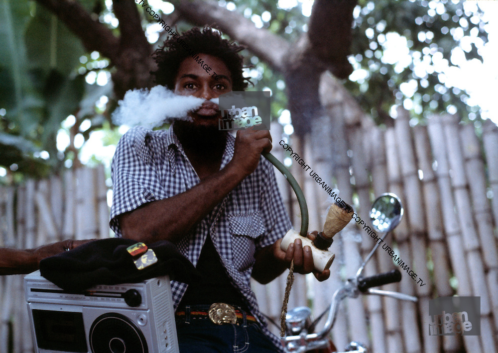 Chalice Dread with Ghetto Blaster - 1973