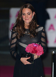 Catherine, Duchess of Cambridge attends the Action on Addiction Autumn Gala Evening at L'Anima in London, UK. 23/10/2014<br />BYLINE MUST READ : JAMESY/GOTCHA IMAGES<br /><br />Copyright by © Gotcha Images Ltd. All rights reserved.<br />Usage of this image is conditional upon the acceptance <br />of Gotcha Images Ltd, terms and conditions available at<br />www.gotchaimages.com