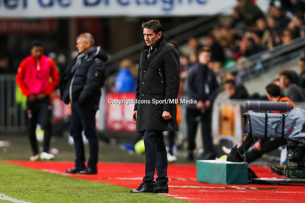 Philippe MONTANIER  - 25.01.2015 - Rennes / Caen  - 22eme journee de Ligue1<br /> Photo : Vincent Michel / Icon Sport *** Local Caption ***