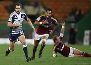 Peter Grant takes a gap through the Highlanders defense during the Super Rugby (Super 15) fixture between the DHL Stormers and the Highlanders held at DHL Newlands Stadium in Cape Town, South Africa on 11 March 2011. Photo by Jacques Rossouw/SPORTZPICS