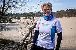 18-03-2018 NED: We hike to change diabetes, Soest<br /> Training voor de Camino 2018 op de Soesterduinen / Mirjam