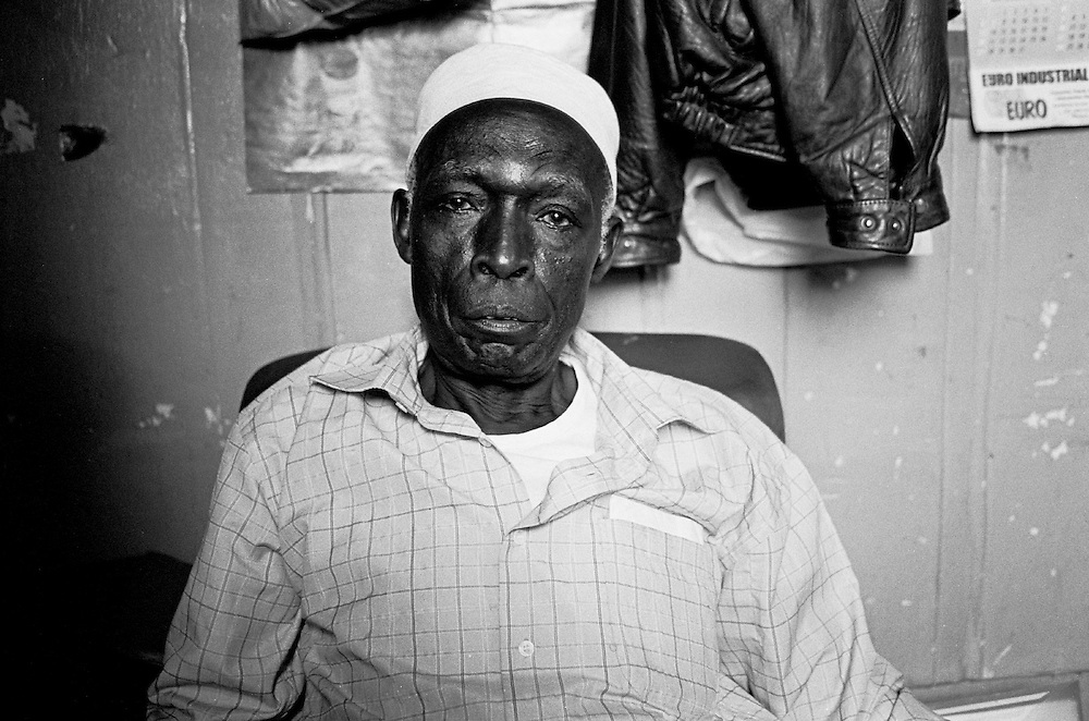 A Nubian Elder in Kibera. Before Kenya's independence, many Nubians carried British Colonial passports and had birth certificates that stated their nationality as British. After independence, most of the Nubians were not recognized as citizens of Kenya and the nationality status of many has yet to be resolved.