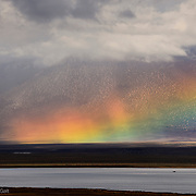 Lake Crowley Rainbow, Owens Valley, California