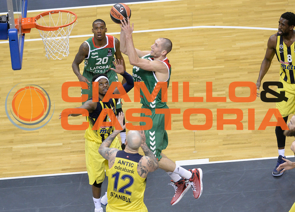 BERLINO 13 MAGGIO 2016<br /> BASKET EUROLEAGUE FINAL FOUR<br /> FENERBAHCE ISTANBUL - LABORA KUTXA VITORIA<br /> NELLA FOTO KIM TILLIE<br /> FOTO CIAMILLO