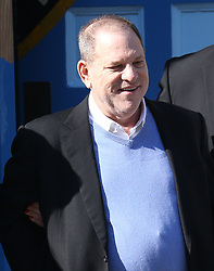 Harvey Weinstein surrenders to NYPD on criminal charges in New York City, leaving in handcuffs and arriving at court for his arraignment. 25 May 2018 Pictured: Harvey Weinstein. Photo credit: MEGA TheMegaAgency.com +1 888 505 6342