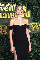 Lily Donaldson, Evening Standard Theatre Awards, The Old Vic Theatre, London UK, 13 November 2016, Photo by Richard Goldschmidt