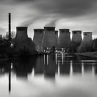 Ferrybridge Power Station, West Yorkshire, UK