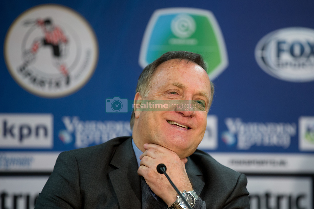coach Dick Advocaat of Sparta Rotterdam during the Dutch Eredivisie match between Sparta Rotterdam and ADO Den Haag at the Sparta stadium Het Kasteel on March 04, 2018 in Rotterdam, The Netherlands