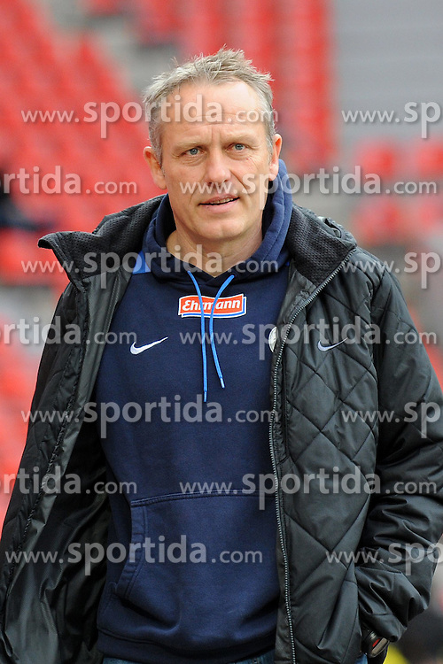 31.03.2012, Bayarena, Leverkusen, GER, 1. FBL, Bayer 04 Leverkusen vs SC Freiburg, 28. Spieltag, im Bild Trainer Christian Streich ( SC Freiburg/ Portrait ). // during the German Bundesliga Match, 28th Round between Bayer 04 Leverkusen and SC Freiburg at the Bayarena, Leverkusen, Germany on 2012/03/31. EXPA Pictures © 2012, PhotoCredit: EXPA/ Eibner/ Thomas Thienel..***** ATTENTION - OUT OF GER *****