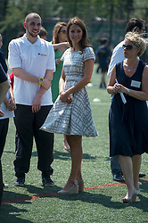 The  Duchess of Cambridge attends a sports themed event at Bacon's College in London, Thursday, 26th July 2012  Photo by: i-Images