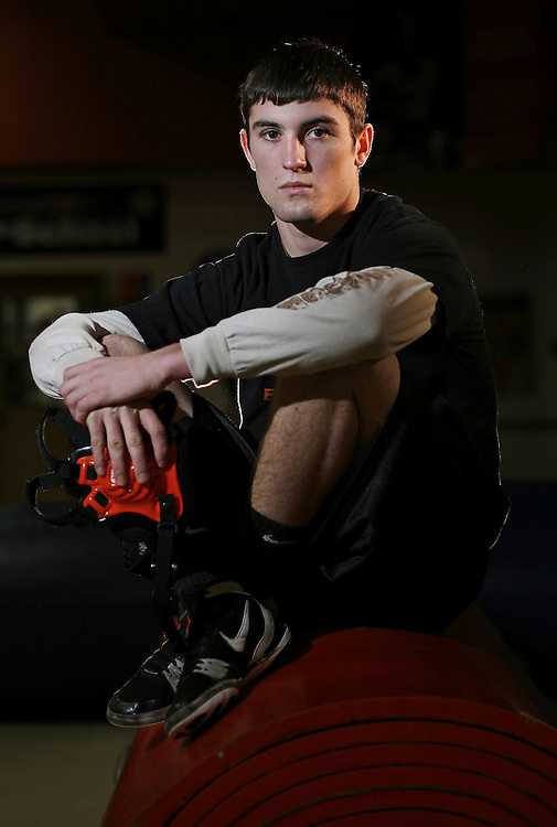 BJ Wilson, Willamina High wrestler.