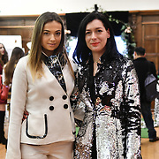 The Romanian Cultural Institute in London continues in its endeavour to promote upcoming Romanian designers Gabriela Rose and Ines Coleman is a model a piece of Gabriela Rose an established luxury brand on the British market on 21 Feb 2019, London, UK.
