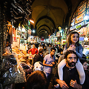 in the Spice Bazaar (also known as the Egyption Bazaar) in Istanbul, Turkey.