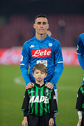 January 13, 2019 - Naples, Campania, Italy - Jose Callejon of SSC Napoli seen before the Serie A football match between SSC Napoli vs US Sassuolo at San Paolo Stadium. (Credit Image: © Ernesto Vicinanza/SOPA Images via ZUMA Wire)