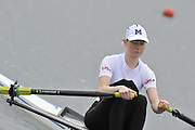 Eton, United Kingdom  GBR LW1X. Ruth WALCZAK at the start of his heat of the women's lightweight single sculls at the 2012 GB Rowing Senior Trials, Dorney Lake. Nr Windsor, Berks.  Saturday  10/03/2012  [Mandatory Credit; Peter Spurrier/Intersport-images]