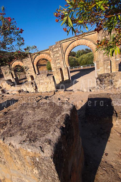 Alberto Carrera, Madinat al-Zahra, Medina Azahara, Portico, Medieval Archaeological Complex, Córdoba, Andalusia, Spain, Europe