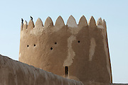 Al-Zubara fort, nowadays a museum.