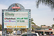 The Marketplace Shopping Area in Alhambra on East Valley Boulevard