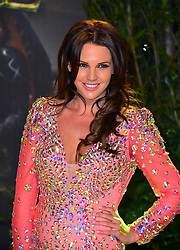 Danielle Lloyd during The Great And Powerful Oz UK film premiere, Empire Leciester Square, London, United Kingdom, February 28, 2013. Photo by Nils Jorgensen / i-Images.